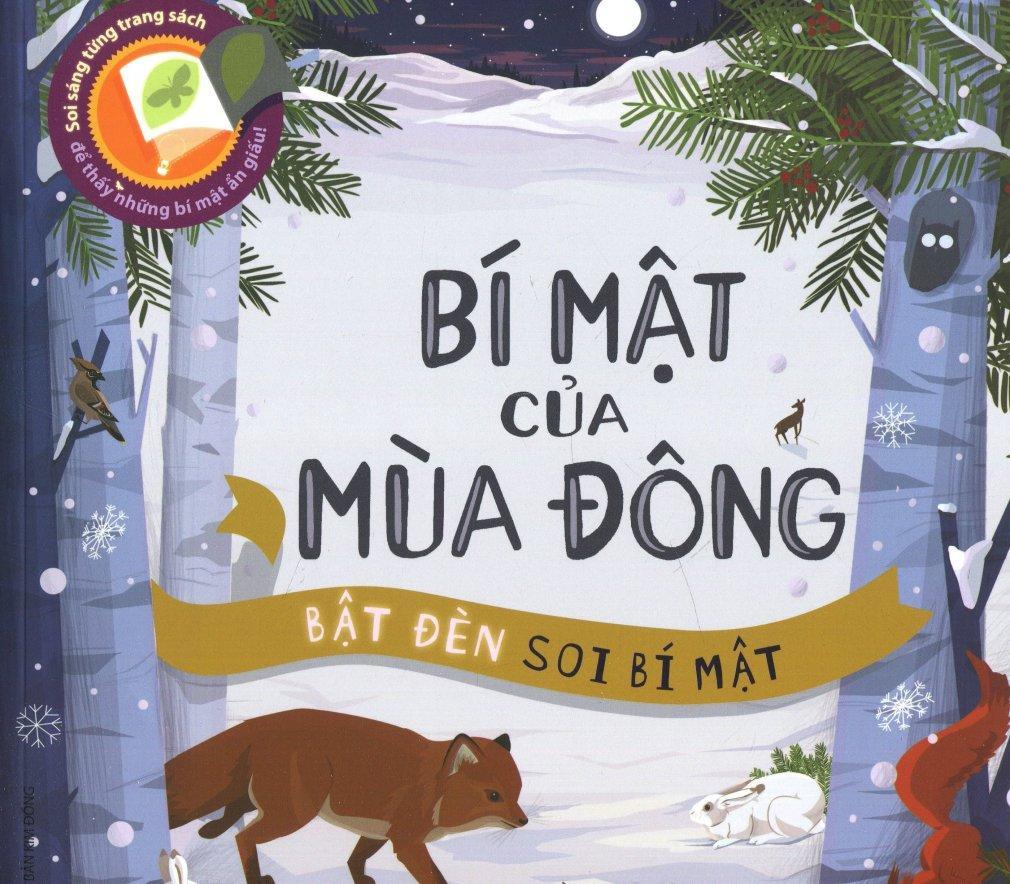 Mua Bí Mật Của Mùa Đông (Bật Đèn Soi Bí Mật) - Carron Brown,Quỳnh Mai