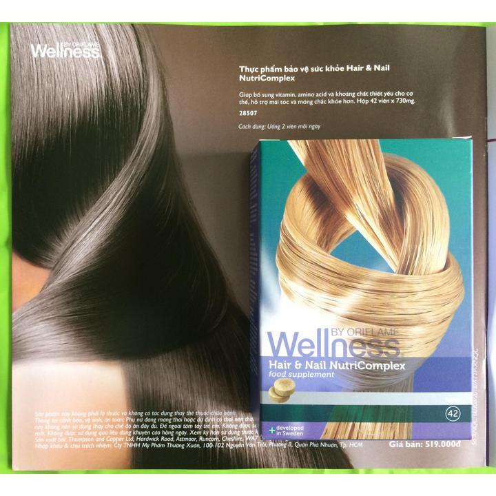Giảm rụng tóc - Hair & Nail NutriComplex