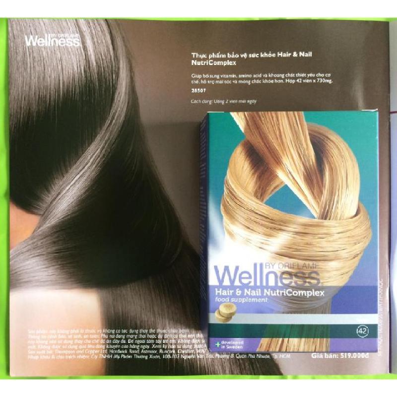 Giảm rụng tóc - Hair & Nail NutriComplex nhập khẩu