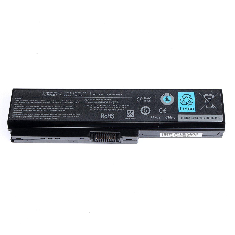 Pin dành cho laptop Toshiba Satellite Pro L640 6 cell (đen) - Hàng nhập khẩu