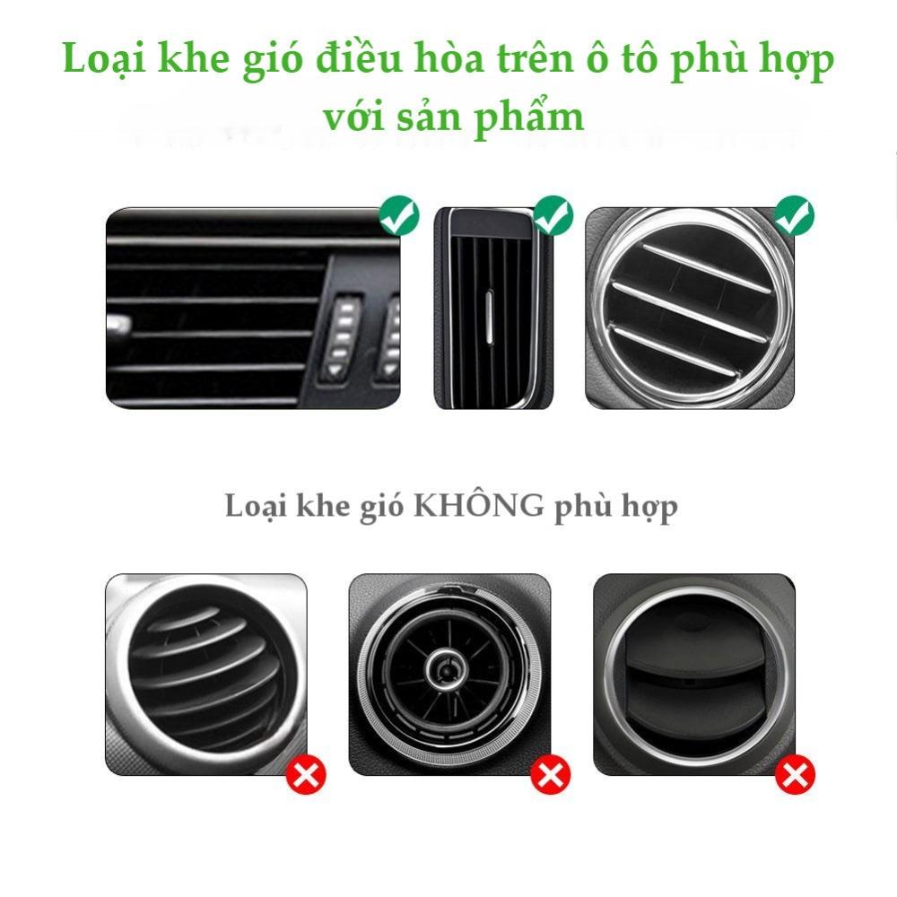 Kẹp điện thoại cài khe gió điều hòa cao cấp UGREEN LP120 - Hãng phân phối chính thức