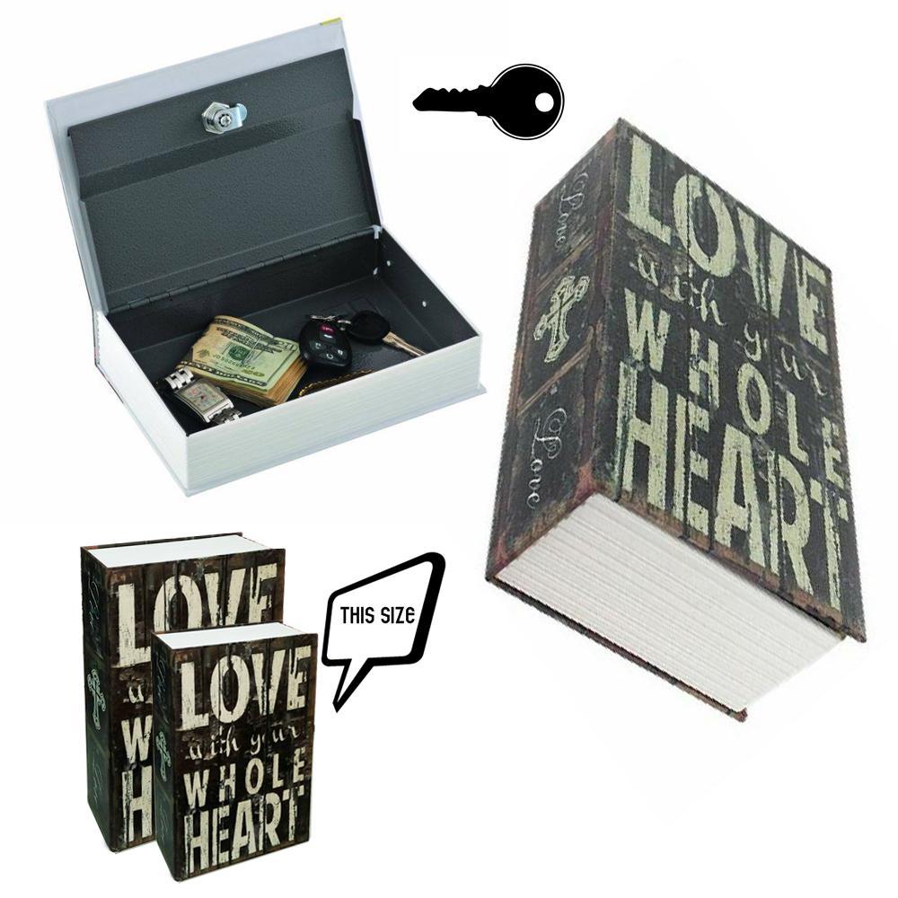 Két sắt giả sách Love - hộp đựng bảo mật giấu đồ chữ LOVE - GD085
