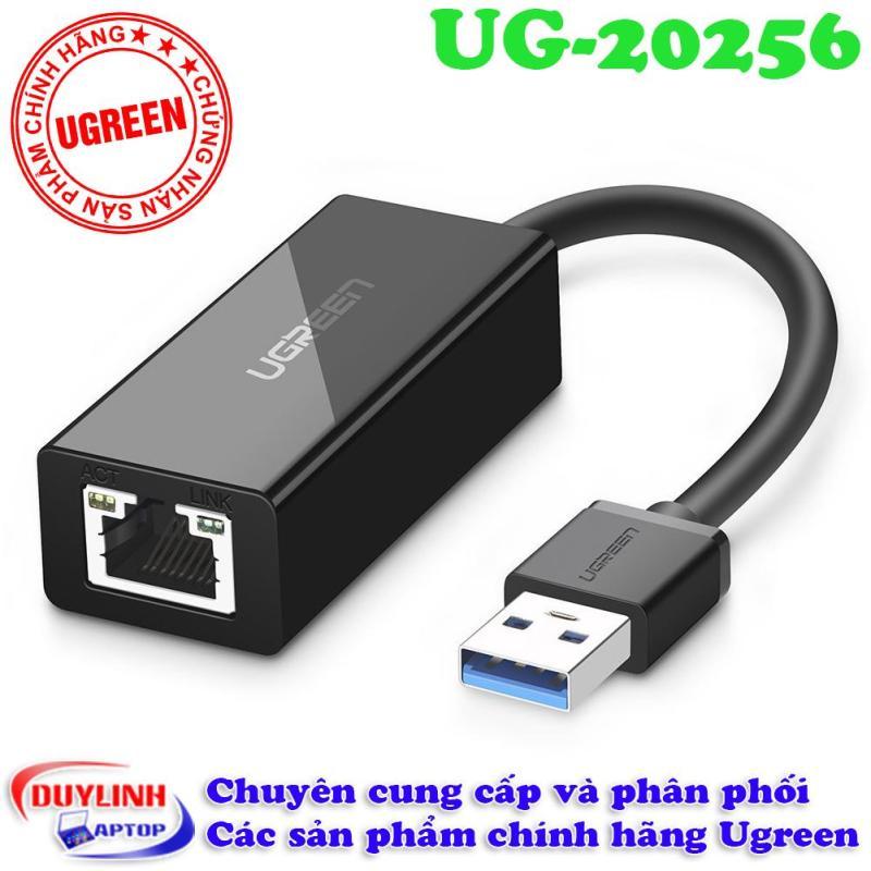 Bảng giá Bộ chuyển đổi USB 3.0 sang LAN 10/100/1000 Mbps Ugreen 20256 Phong Vũ