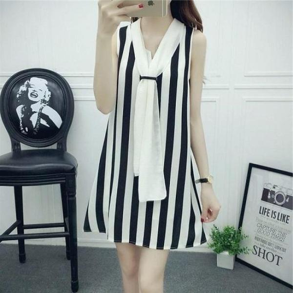 Đầm Suông Misa - Trang Phục Dạo Phố Hot Nhất