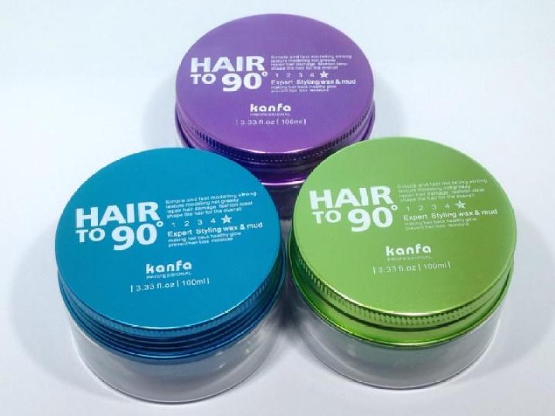 Sáp vuốt Tóc Kanfa Hair To 90 Wax đặc trị những mái tóc mỏng, khó giữ nếp giá rẻ