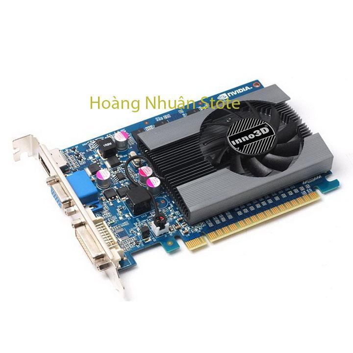 Hình ảnh Card màn hình Inno3D GT730-2GD3 (Geforce GT730/ 2Gb/ DDR3/ 128Bit)