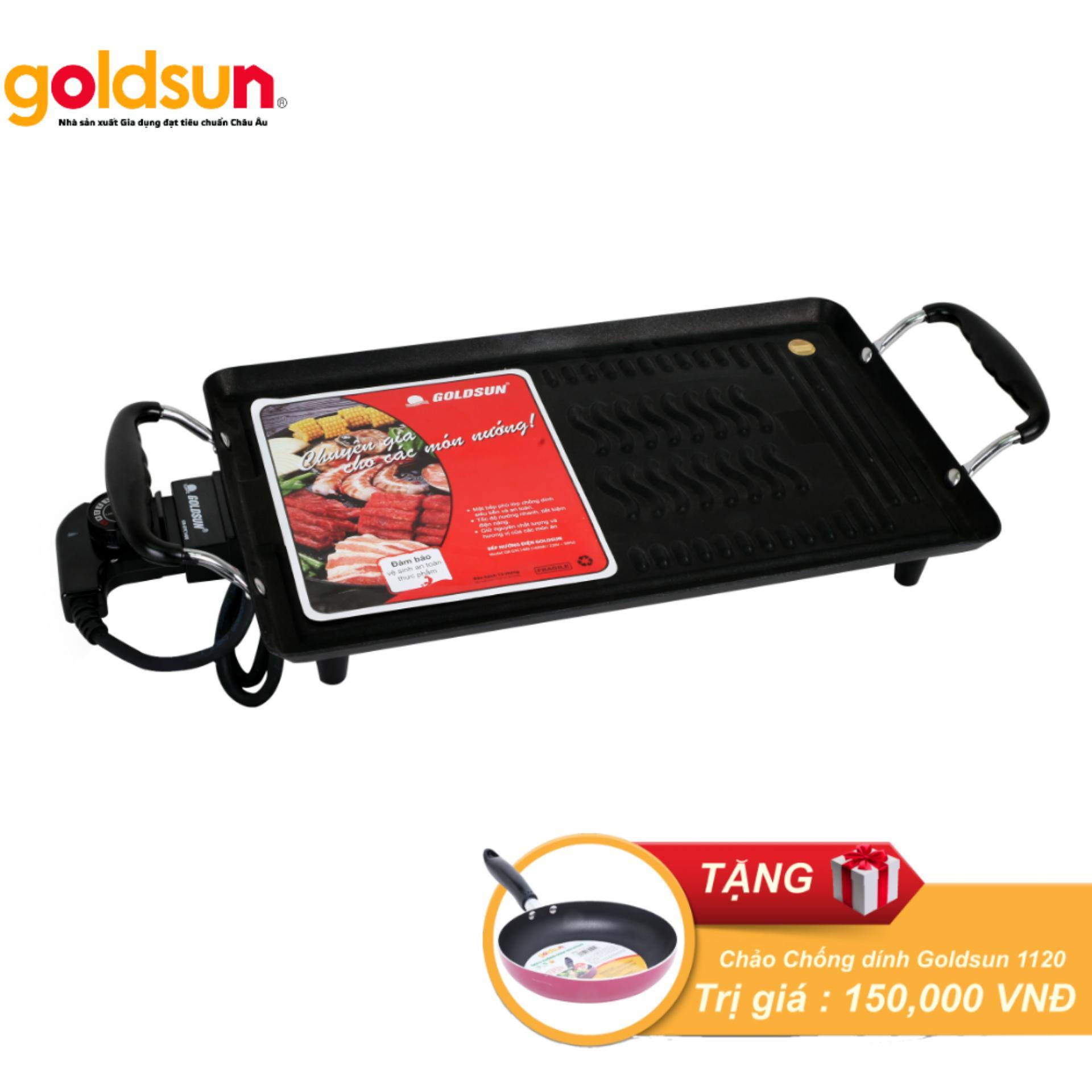 Hình ảnh Bếp nướng điện Goldsun GR-GYC 1400