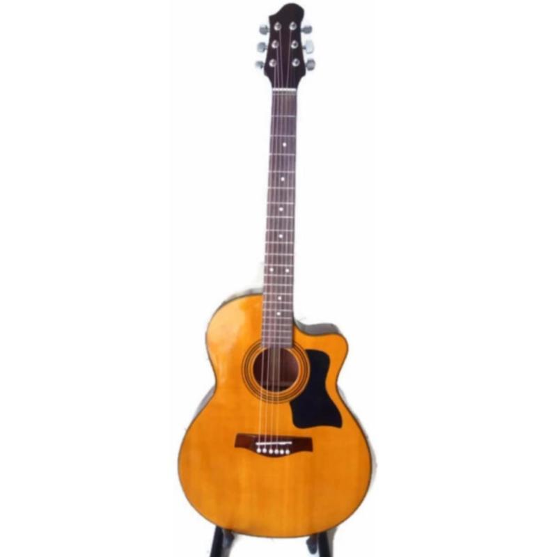 Đàn guitar Acoustic DJ120 (màu vàng yamaha) + Tặng Capo, phụ kiện