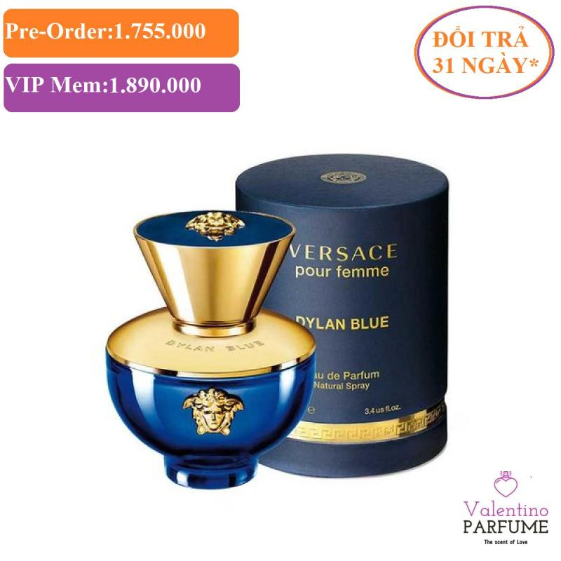 Nước hoa cao cấp Versace Dylan Blue Pour Femme EDP 100ml - Đổi trả 31 ngày