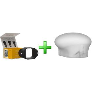Bộ tản sáng đèn flash MAGMOD MagSphere + Grip Cao su MagGrip thumbnail