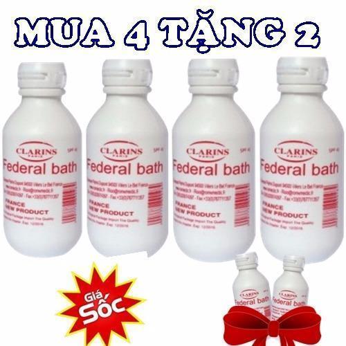 COMBO 3 Sữa non kích trắng FEDERAL BATH – PHÁP cao cấp