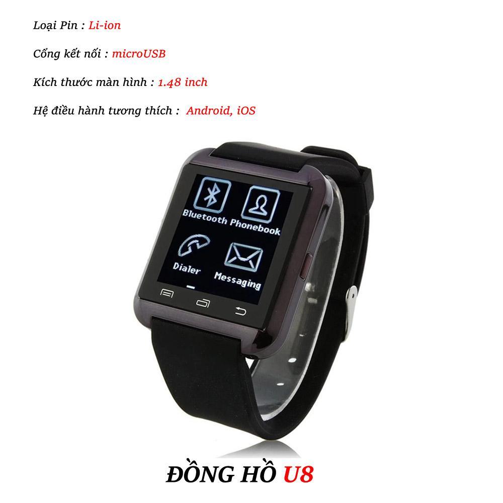 Hình ảnh Đồng hồ thông minh Smartwatch U8
