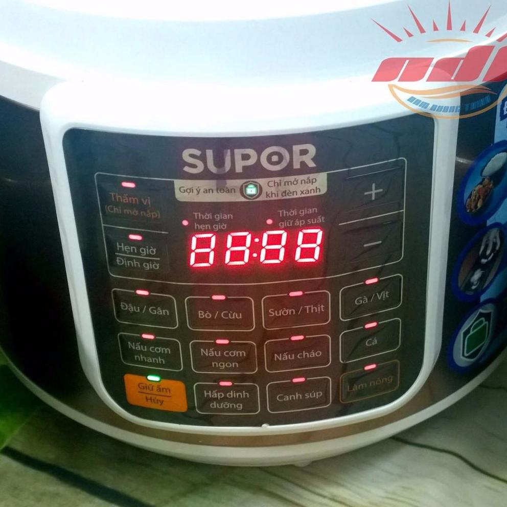 Nồi áp suất điện tử thông minh 5 lít Supor CYSB50YC10DVN-100 (BH SUPOR 12 THÁNG)