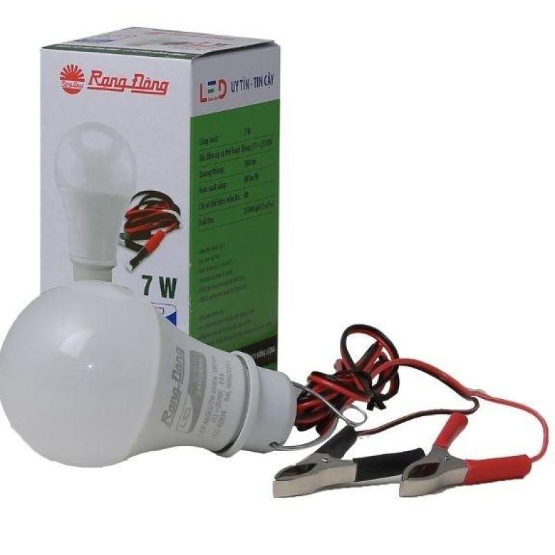Bóng đèn 12V - 24V LED 7W / 9W / 12W Rạng Đông có kẹp, chipled Samsung