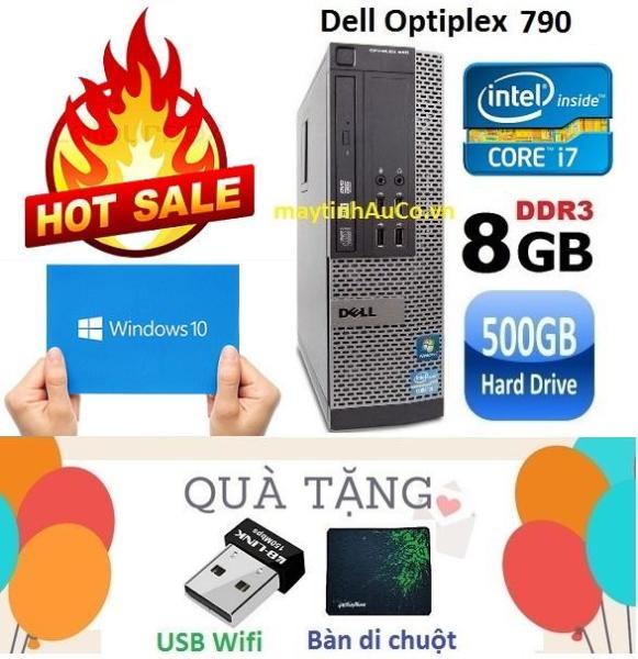 Bảng giá Máy tính đồng bộ Dell Optiplex 790 Core i7 2600 / 8G / 500G - Tặng USB Wifi , Bàn di chuột , Bảo hành 24 tháng Phong Vũ