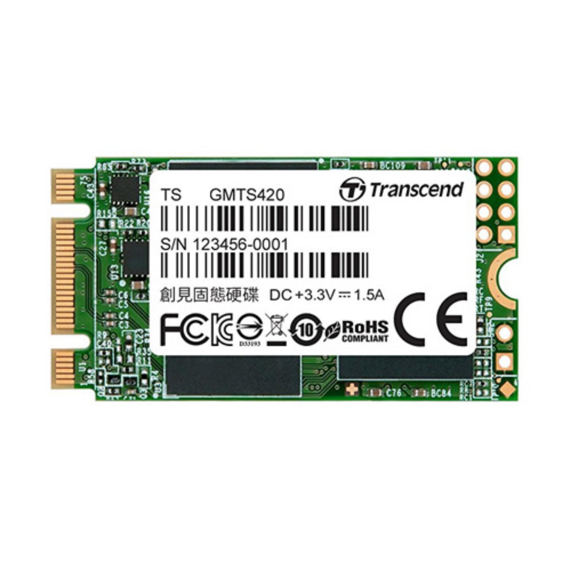 Hình ảnh Ổ cứng SSD M2 SATA 2242 Transcend MTS420 (3D TLC) - BH 36T 560/500