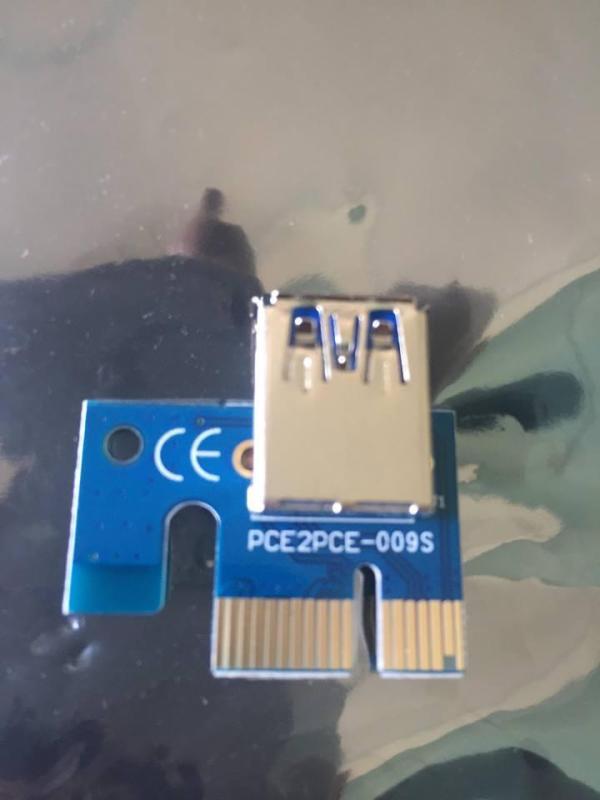 Bảng giá Dây Riser PCI-e version 009s Linh Kiện, Trâu Cày & Thiết Bị Mining ( New 2018 Cực Bền Bảo Hành 1 năm) Phong Vũ