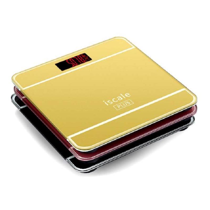 Cân Sức Khỏe Điện Tử Gia Đình Iscale Hình Iphone plus Hàng Chất Lượng Cao (Hồng) + Dụng Cụ Lấy Ráy Tai nhập khẩu