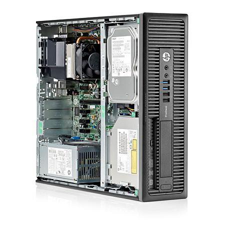 Cây máy tính để bàn HP ProDesk 600 G1 Sff, E01 (CPU i3-4150, Ram 4GB, HDD 320GB, DVD) tặng USB Wifi, hàng nhập khẩu, bảo hành 24 tháng (không kèm màn hình).