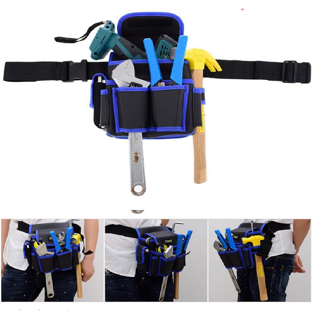 Túi đựng đồ nghề cao cấp, dày dặn chắc chắn, Túi đeo ngang thắt lưng, Túi đựng dụng cụ sửa chữa cho bác thợ nhỏ gọn tiện lợi, Túi đựng đồ sửa chữa