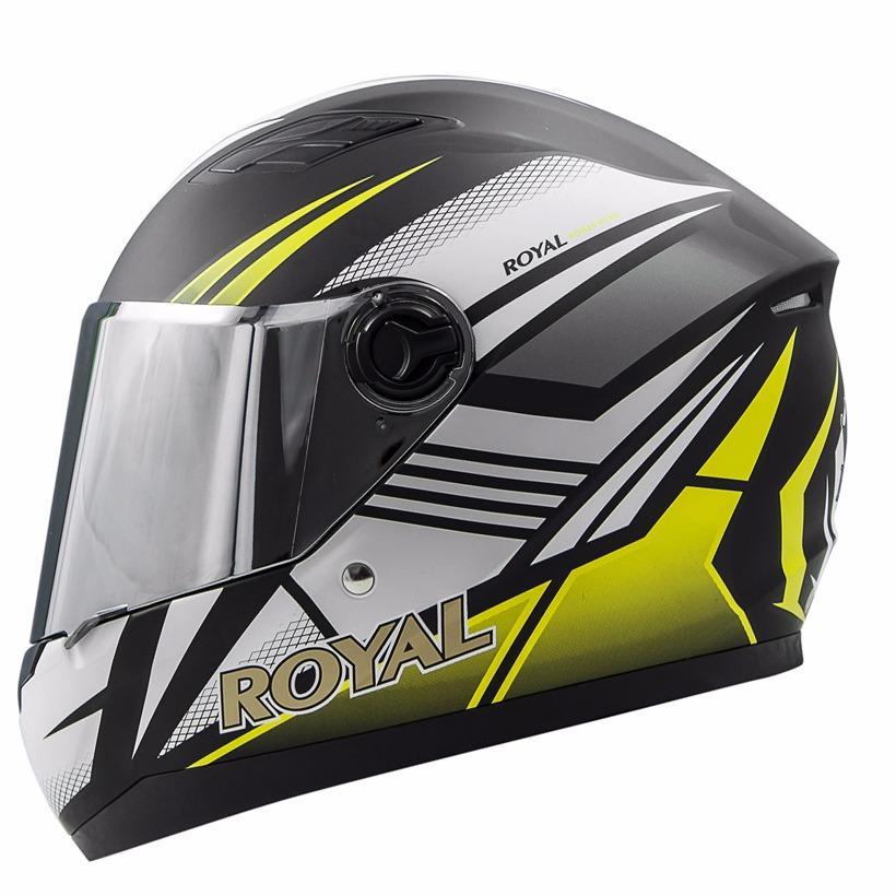 Giá Bán Mũ Bảo Hiẻm Royal M136 Vàng Kính Gương Royal Helmet