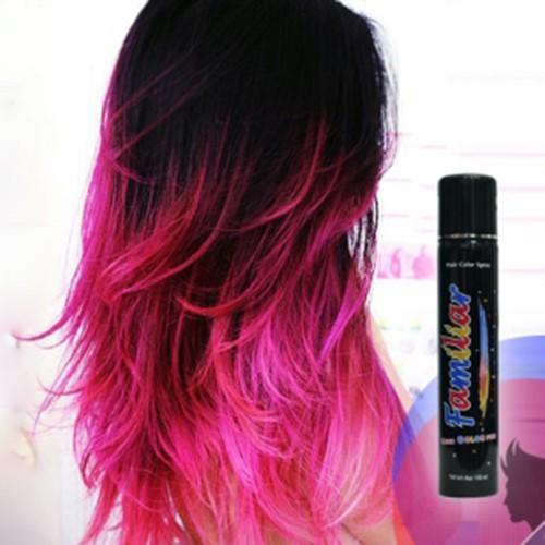 Keo xịt tóc màu Familiar 100ml - Màu D1 Hồng đậm giá rẻ