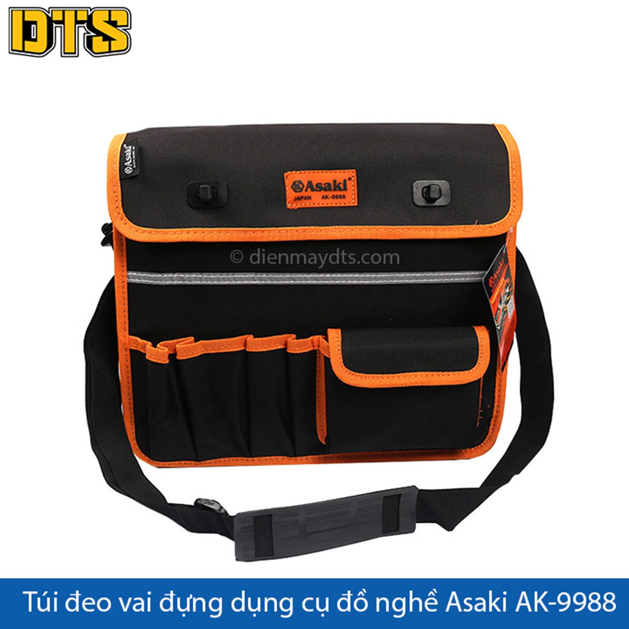 Túi đeo vai đựng dụng cụ đồ nghề Asaki AK-9988