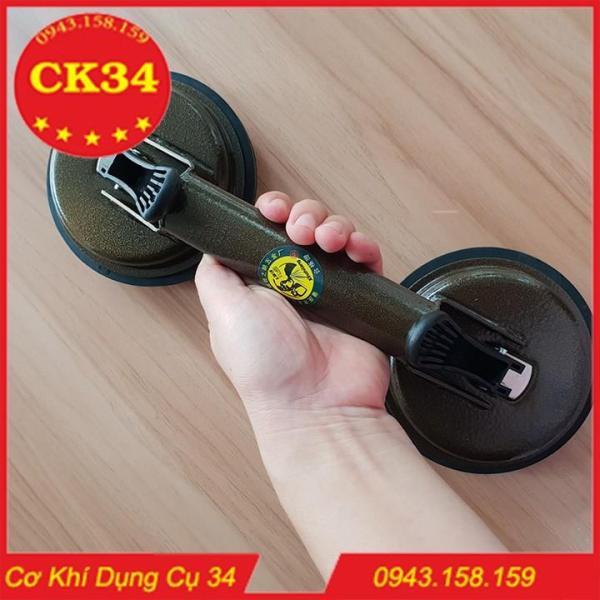 Hít kính chân không 2 chạc-Hít kính 2 chạc, hít gạch hút nắp bể các vật dụng có mặt phẳng chuyên dụng