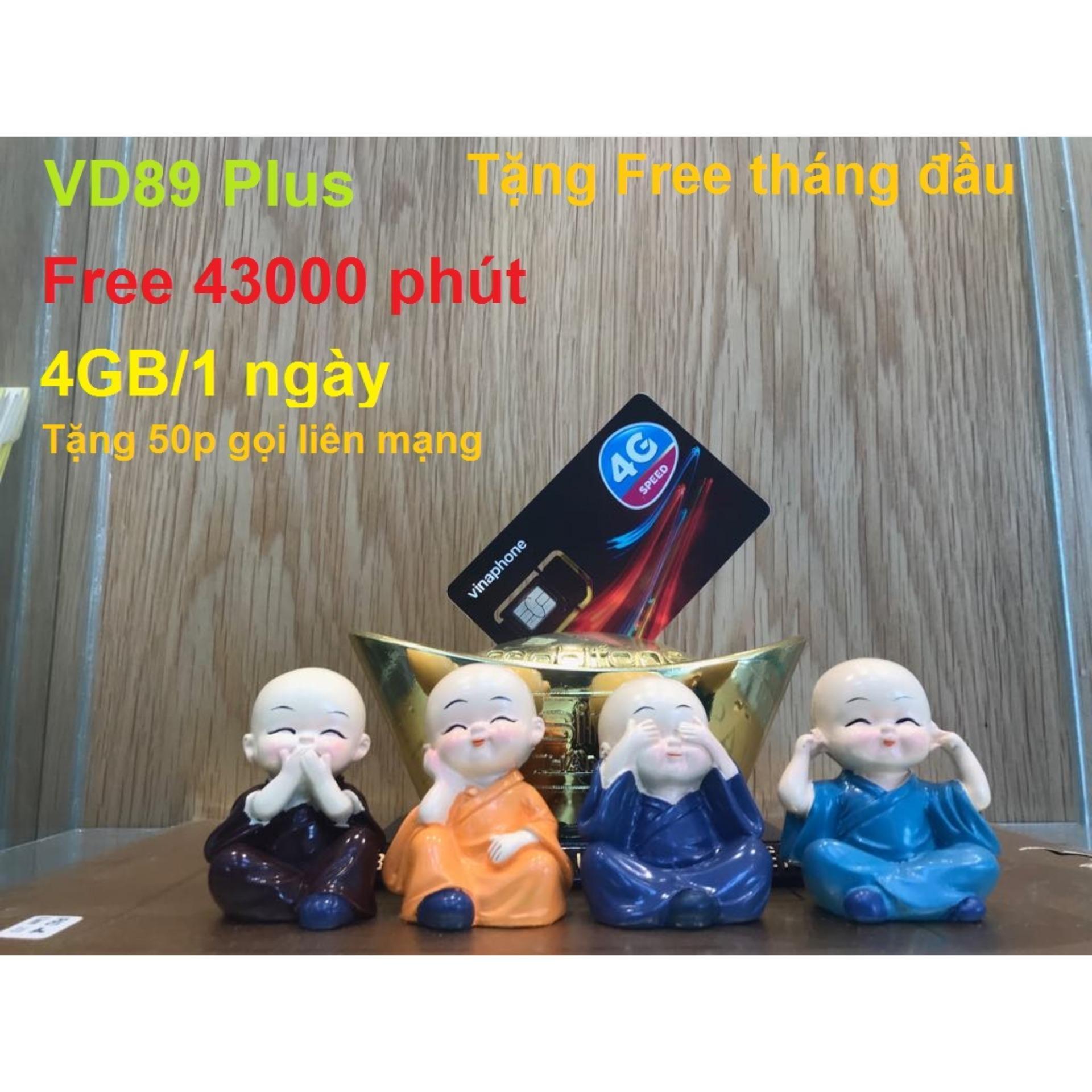 Giá Bán Sim 4G Vina Gold Vd89P 120Gb Thang Miễn Phi 43 000 Phut Gọi Thang Sim 10 Số Trong Hồ Chí Minh