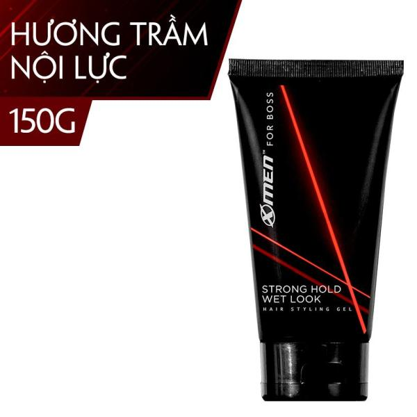 Keo vuốt tóc X-Men For Boss Gel STRONG HOLD WET LOOK 150G