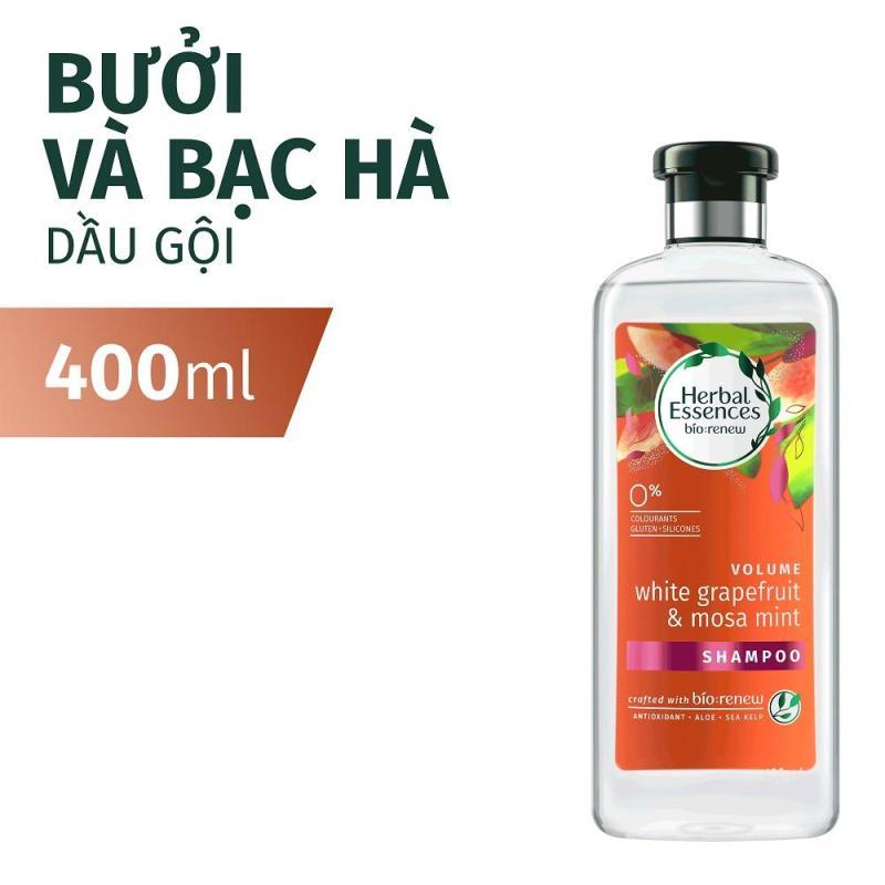 Dầu Gội Herbal Essences Bưởi & Bạc Hà 400ml