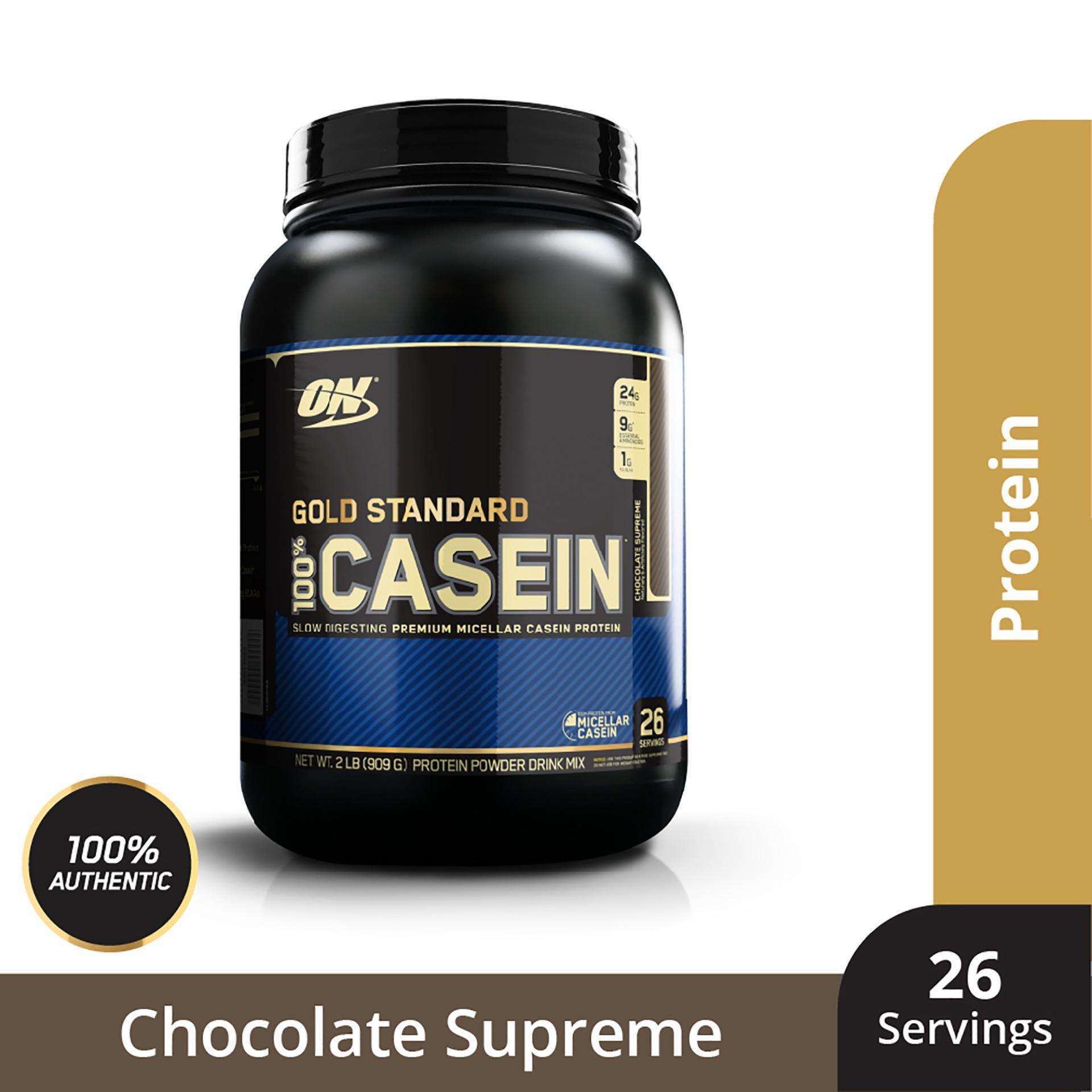 Thực phẩm bổ sung Optimum NutritionGold Standard 100% Casein Chocolate Supreme 2 lbs nhập khẩu