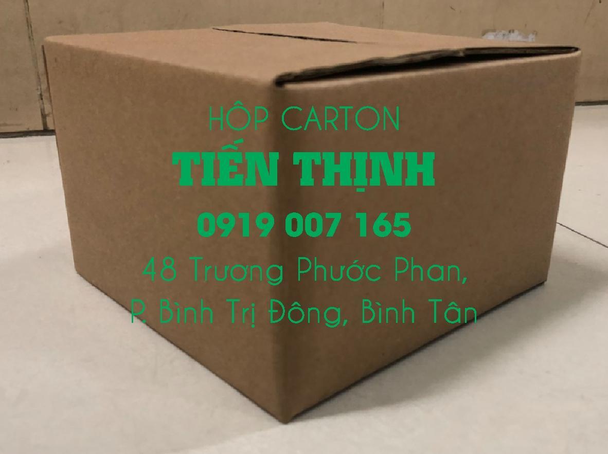 Hộp carton 20x12x10 Combo 100 thùng carton