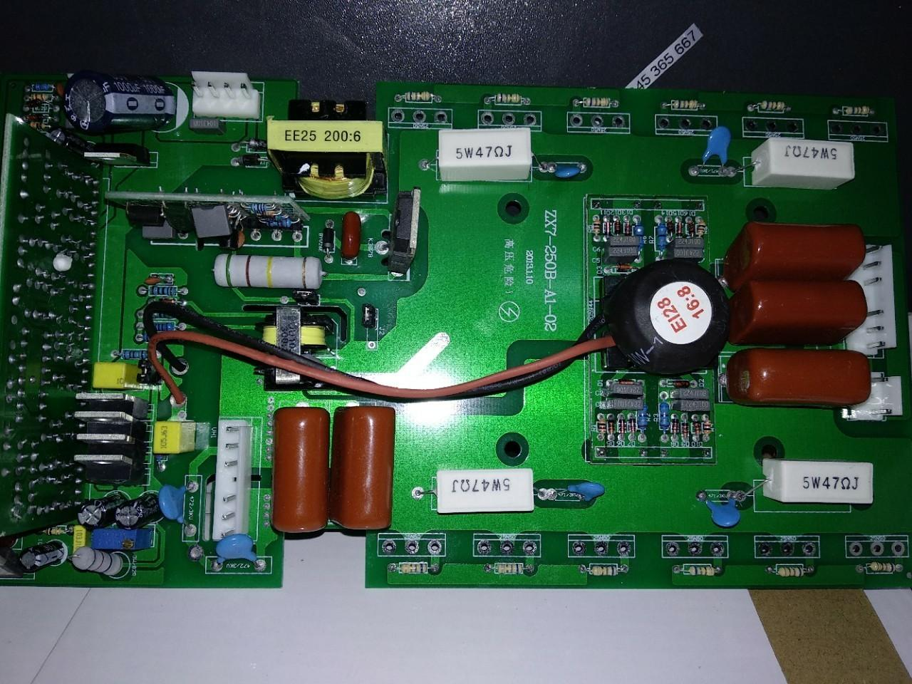 Bo mạch công suất 12 sò (ko kèm sò) dùng cho máy hàn - phụ kiện máy hàn que máy hàn tig