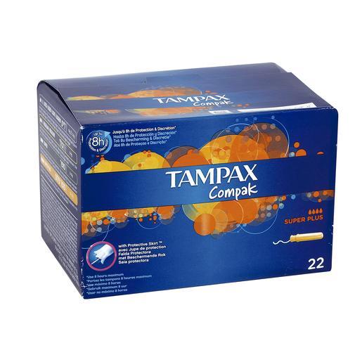 Băng vệ sinh Tampon Tampax Compak Super Plus nhập khẩu