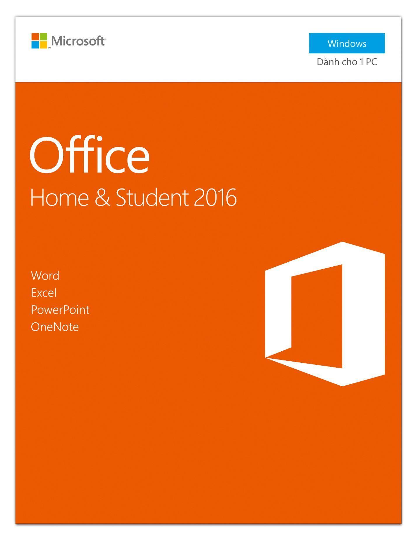Phần mềm Microsoft® Office Professional 2016 - Pupam phân phối chính hãng
