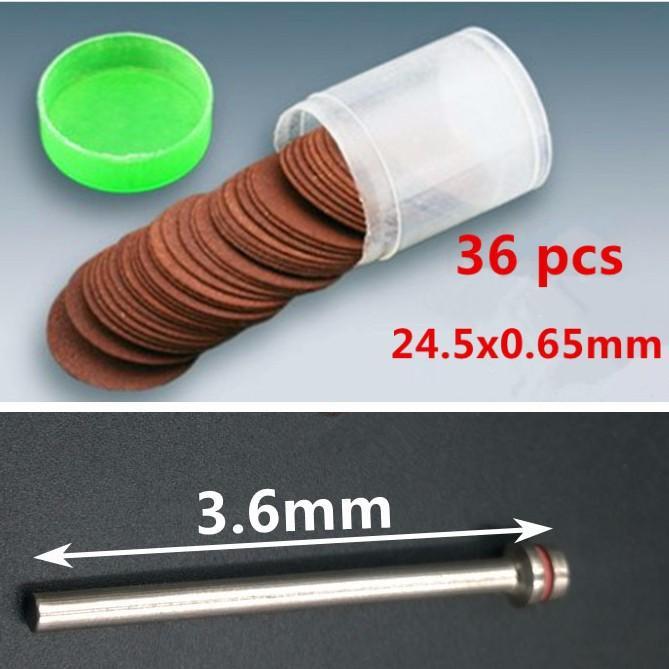 36 Đĩa đá cắt mini (cho máy khoan mài cắt cầm tay mini )