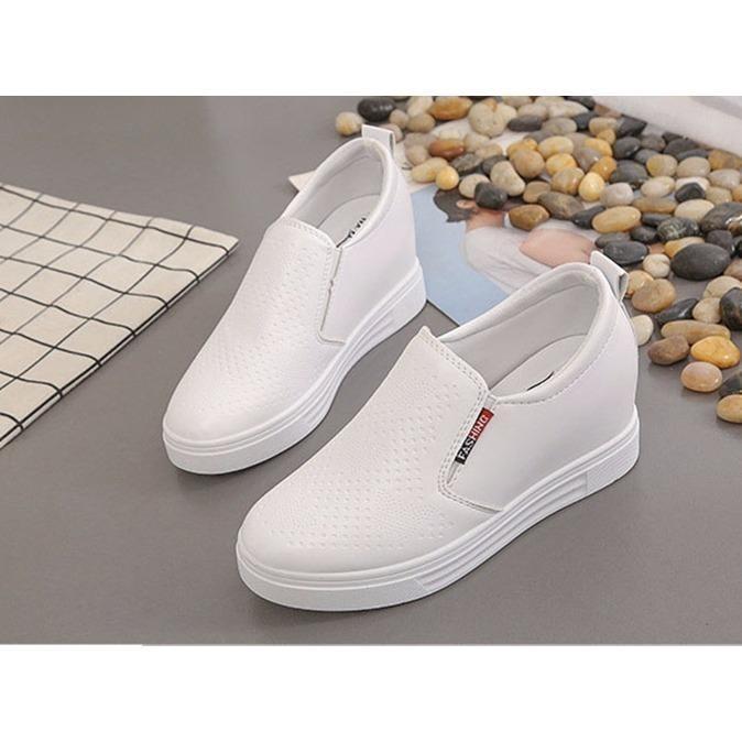 Bán Mua Giay Sneaker Độn Đế Nữ 7Cm Da Pu Ma H24 Koreashop888 Mới Hà Nội