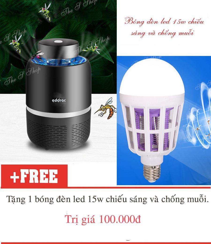 Máy bắt muỗi và diệt côn trùng Eddrac(Hàng chất lượng cao KHÔNG Giá Rẻ)