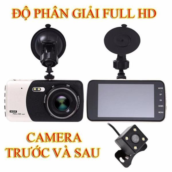 Camera hành trình xe hơi Full HD trước và sau