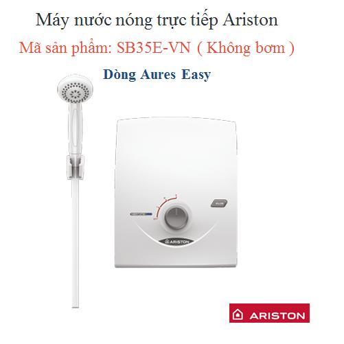 Máy nước nóng tức thời  Ariston SB35E-VN (Trắng)