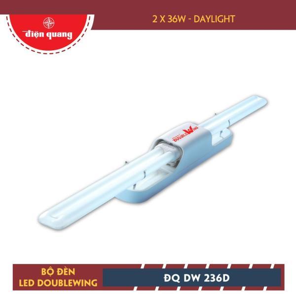 Bộ đèn DOUBLEWING Điện Quang ĐQ DW 236D (2x36W daylight)