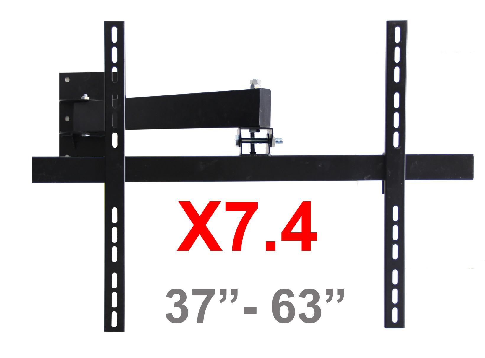 Hình ảnh Khung treo Tivi LCD - LED – Plasma Xoay cao cấp 37 - 63 inch X7.3 (Đen) - Huy Tưởng ( Có Clip hướng dẫn lắp đặt )