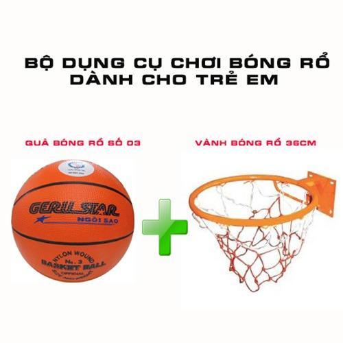Hình ảnh Bộ sản phẩm bóng rổ dành cho trẻ em