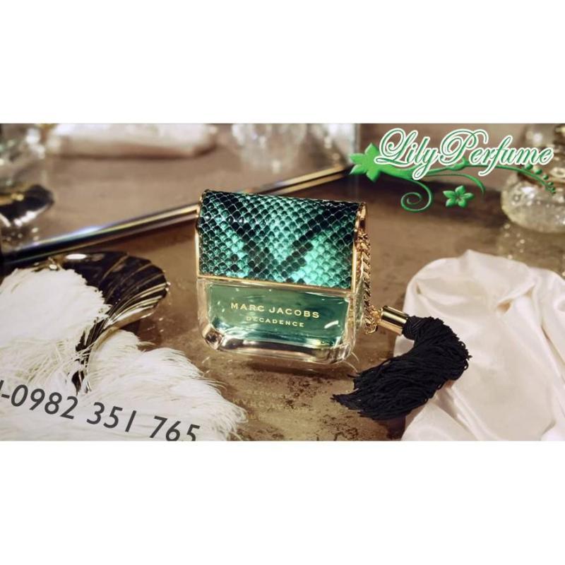 Marc Jacobs Decadence Túi xanh (Nước hoa chiết / Chiết nước hoa) Thủy tinh 10ml-Thủy tinh 10ml nhập khẩu
