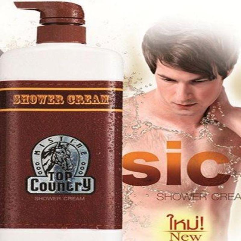 Sữa tắm nam hương thơm tính Ngựa Top Country Thái Lan - 500ml