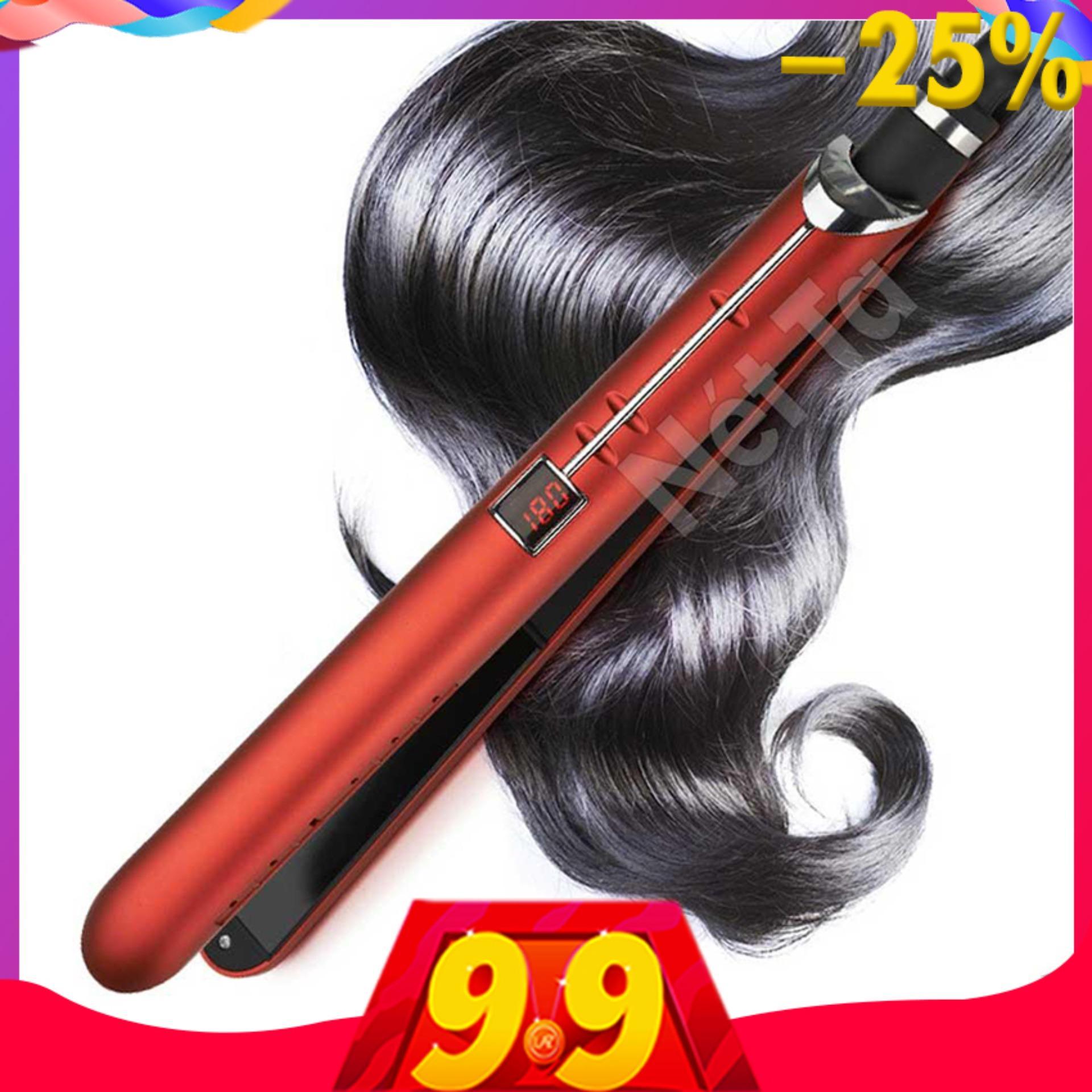 Máy duỗi tóc điều chỉnh nhiệt độ cao cấp Kemei KM-2205