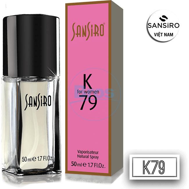 NƯỚC HOA SANSIRO THỔ NHĨ KỲ 50ML - K79 cho nữ