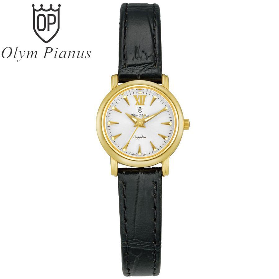 Đồng hồ nữ mặt kính sapphire Olym Pianus OP130-07LK-GL trắng bán chạy