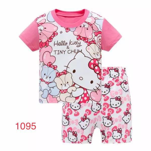 Đồ bộ trẻ em kitty DBT1095 Nhật Bản
